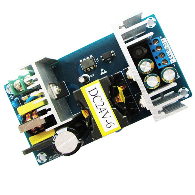 2016 Melhor Venda AC-DC Power Supply Module AC 100-240 V para DC 24 V 9A Comutação da fonte de Alimentação placa