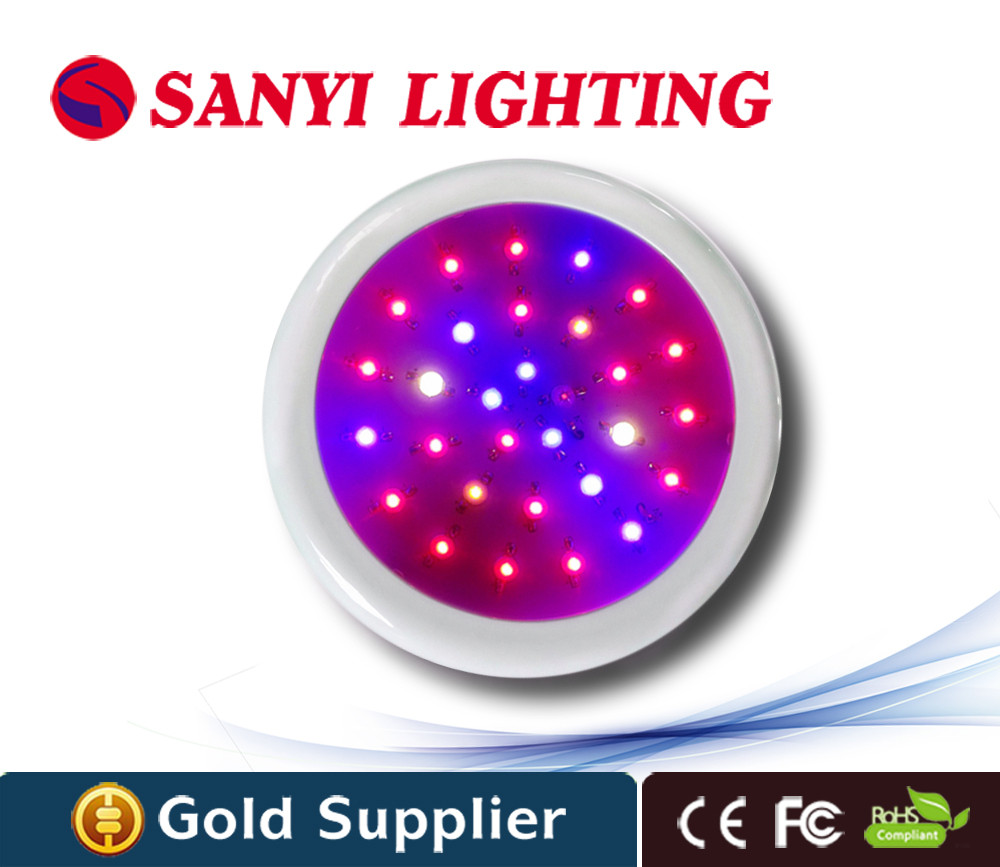 90W UFO LED Grow Lights red blue 8:1 Indoor Hydroponics Plant Lamps Best For Medicinal Plants Growth Flowering