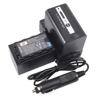 DSTE 2x VW-VBD58 Battery Pack with Travel and Car Charger for Panasonic AJ-PX270 AJ-PX298 AJ-PX298MC HC-MDH2 HC-MDH2GK