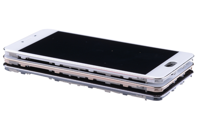 5.0 Black White Original M3S Mini LCD For MEIZU M3S Display Touch Screen with Frame M3 S LCD Screen Y685H Replacement (4)