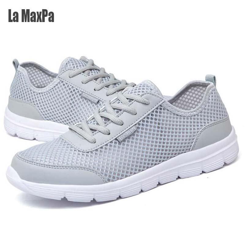 ✅Negro zapatillas Zapatillas deportivas Unisex de malla ...