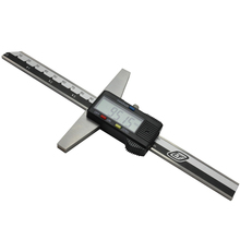 """0-150 мм """" Нержавеющая сталь метрический цифровой штангенциркуль микрометр Электрический цифровой измеритель глубины"""