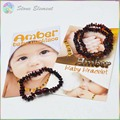 Genuine Baltic Cherry Natural Amber Chips Beads Baby / Kid Teething Bracelets and Necklace