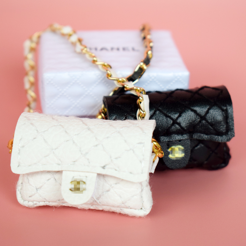 1PCS Fashion Handmade Handbag with Box Bag for Blyth, Barbi, Momoko, Pullip, 1/6 BJD Doll Clothes Accessories