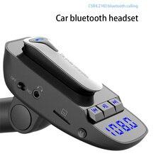 Auricolare Bluetooth senza fili Trasmettitore FM MP3 Radio Adapter Kit Per Auto Supporta TF/SD Card e USB Caricabatteria Da Auto per tutti i Smartphone