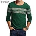 E-BAIHUI бренд майка мужская хлопок футболка с длинным рукавом мужская толстовки и свитера футболка толстовки теплое белье футболки JR037
