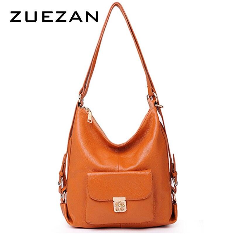 Shipped after September 1 Women Backpack Women Genuine Leather Shoulder bag 100 natural leather bags