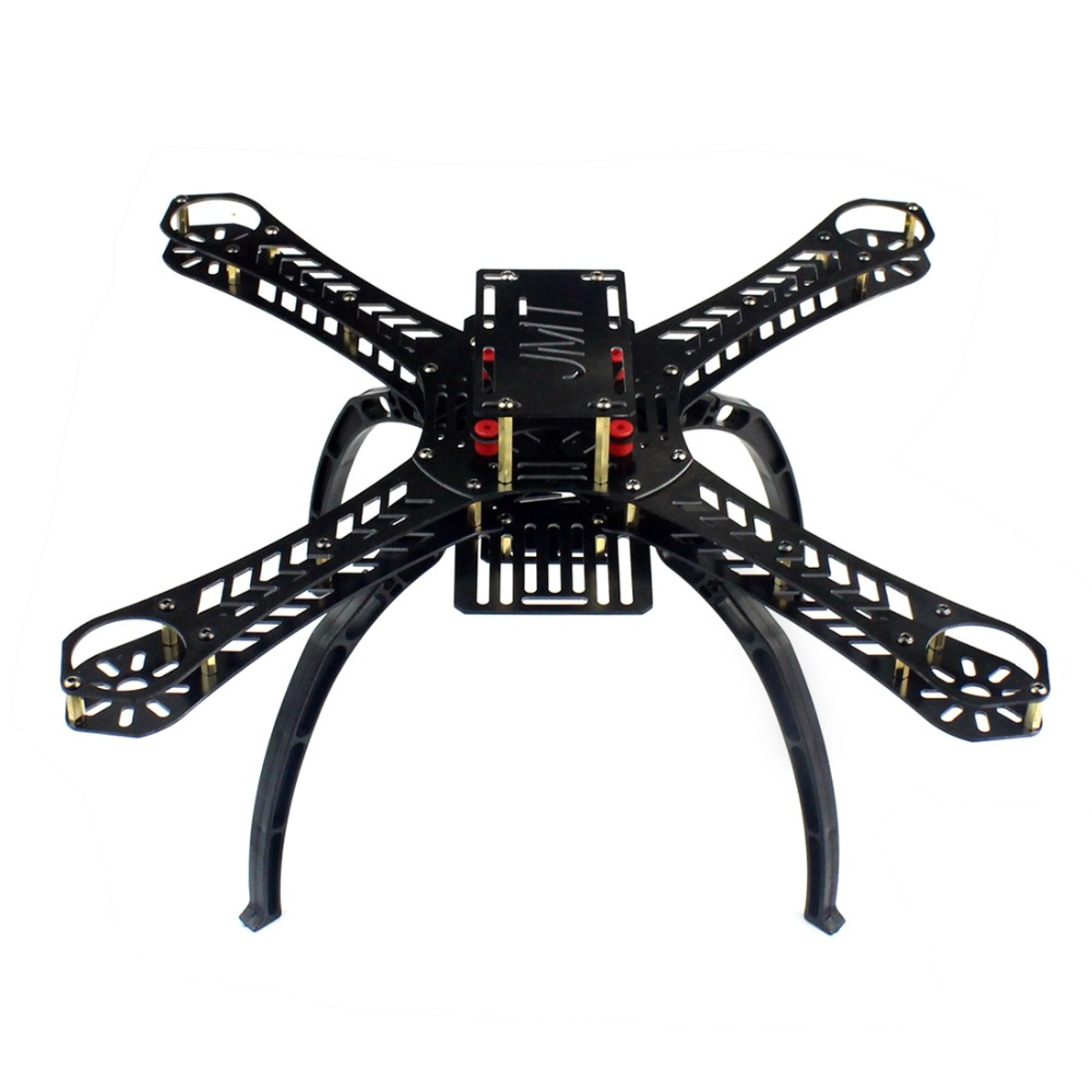 X4 250 280 310 360 380mm distancia entre ejes FiberGlass Alien a través de Mini Quadcopter marco Kit DIY RC Multicopter FPV Drone f14889/93