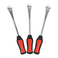 Tire Lever Tool Spoon, Three Pcs, Motorcycle Bike Tire Change Kit with Case