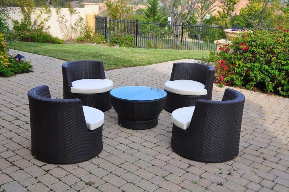 2017 hot sale trade assurance bali antique ball rattan outdoor furniture