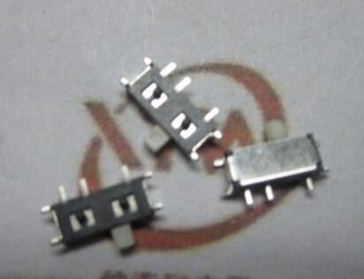 Free Shipping 100pcs/lot Mk12c02 7p-12608 Mp3/mp4 Toggle Switch Button Smt Microswitch Key 1p2t Best Quality Lights & Lighting