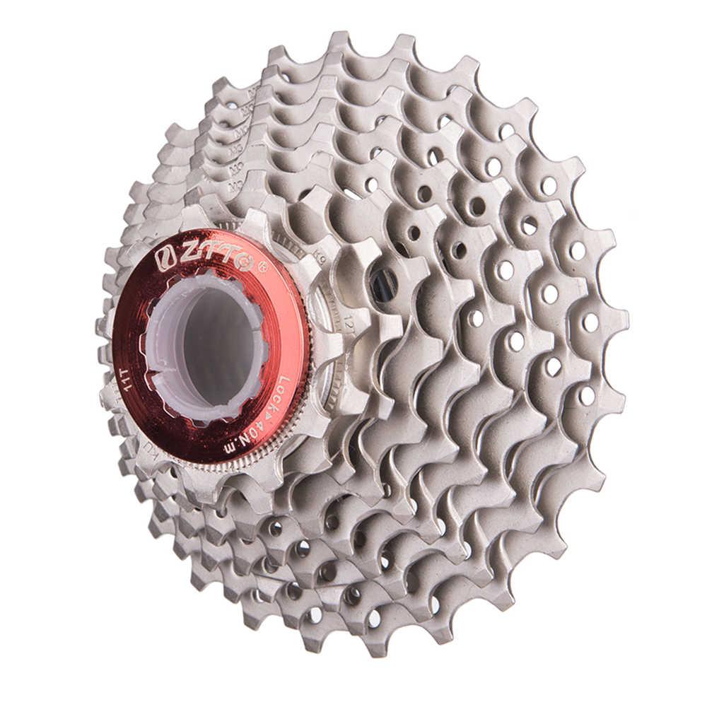 4fe60fbc089 ... ZTTO Road Bicycle Cassette Freewheel 9 Speed Cassette 9s 11-25T/28T Bike  Sprockets ...