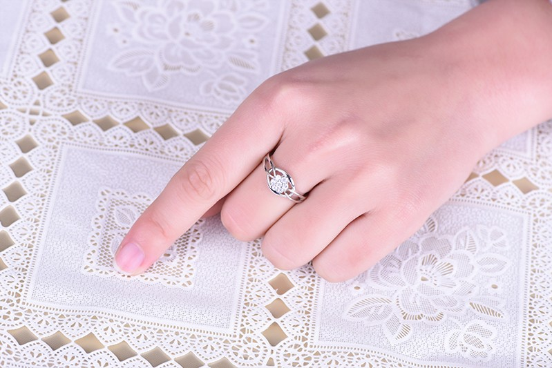 for silver ring wedding for 925 wedding ring,for ring finger ringDL48610A (8)