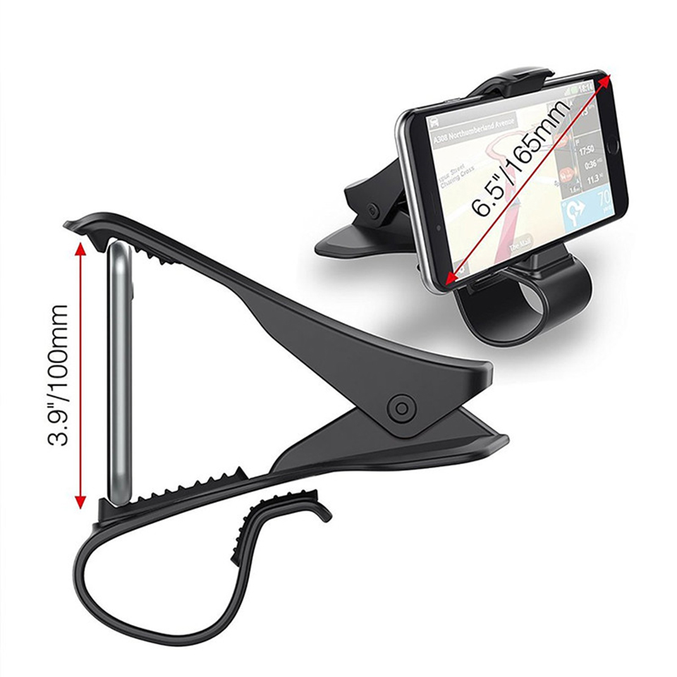Image 5 - Tendway Dashboard Car Phone Holder 360 Degree Mobile Phone Stand Holder Grip in Car Universal Adjustable Cell Phone Holder Mount-in Phone Holders & Stands from Cellphones & Telecommunications