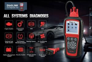 Image 2 - Autel DiagLink OBD2 קוד קורא אוטומטי OBD2 סורק DIY רכב רכב אבחון כלי EPB שמן איפוס סורק PK MD802 CRP129