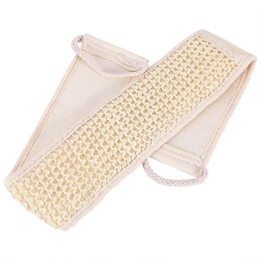1pc Loofah Back Strap Bath Brush Shower Natural Soft