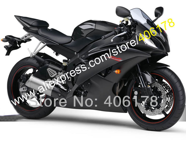 Hot Sales,Injection YZF600 <font><b>R6</b></font> <font><b>YZF</b></font>-<font><b>R6</b></font> YZFR6 <font><b>2008</b></font> 2009 2010 2011 2012 2015 2016 Black Aftermarket <font><b>Fairing</b></font> <font><b>Set</b></font> (Injection molding) image