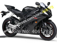 YZF600 R6 YZF R6 YZFR6 2008 2009 2010 2011 2012 2015 2016 Motorbike Black Aftermarket Fairing Kit (Injection molding)