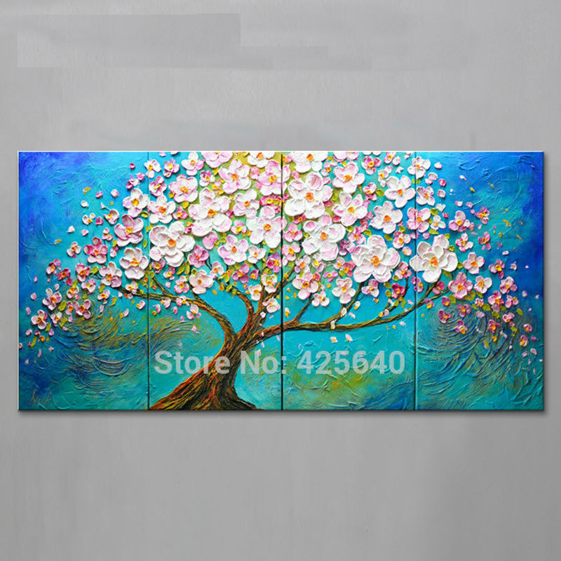 paintings for living room wall candice olson decor aliexpress.com : buy oil painting on canvas art ...