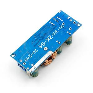 Image 5 - DC DC 2V 24V to 3V 30V 80W USB Step UP Power Supply Module Adjustable Boost Voltage Converter 4A