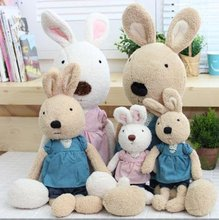 Le Sucre Sugar RABBIT,SG327 design 30CM,2 COLORS,stuffed dolls,Birthday,valentine's day gift,factroy wholesale