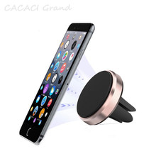 Magnetic Phone Holder for Xiaomi Redmi Note 7 Huawei Car Air Vent Mount Magnet Cell Phone Stand Holder for iPhone 7 Samsung S10 topk magnetic car phone holder stand for iphone samsung xiaomi huawei magnet air vent phone mount holder for cell mobile phone