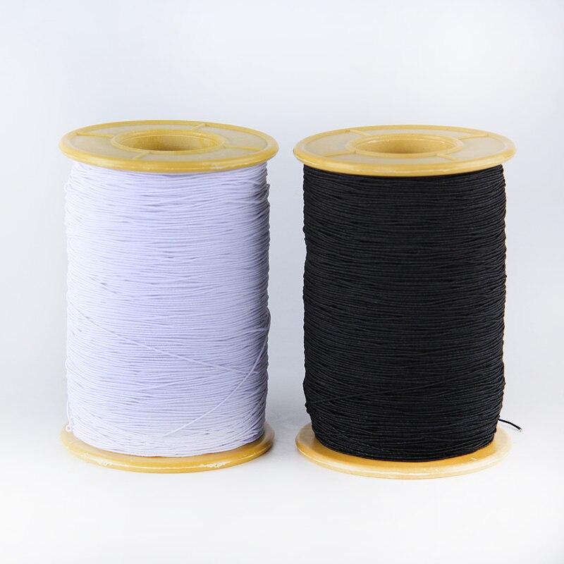 0,5 мм, 500 ярдов, нижняя линия швейной машины с эластичной нитью для изготовления бусин-ниток для юбки