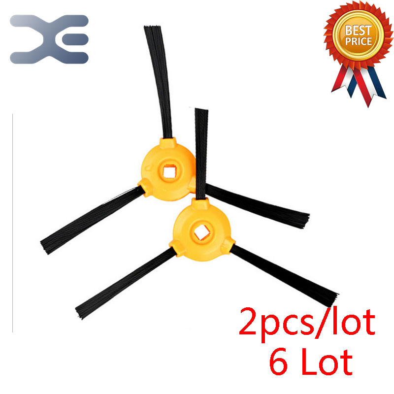 6 Lot Vacuum Cleaner Parts Ecovacs CEN360 Sweeping Machine Accessories Side Brush
