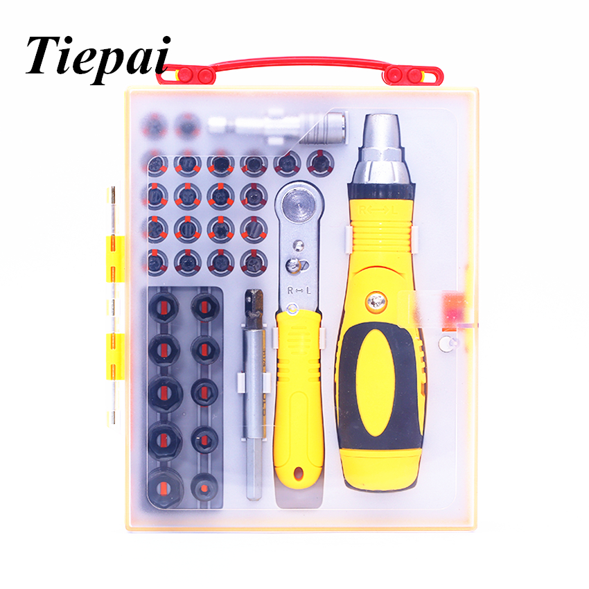 Tiepai NEW Screwdriver Set 35 in 1 Multi-Purpose Precision Screwdriver Repair Tool Set For iPhone Cellphone Tablet PC Hand tools siger art диона alphabet