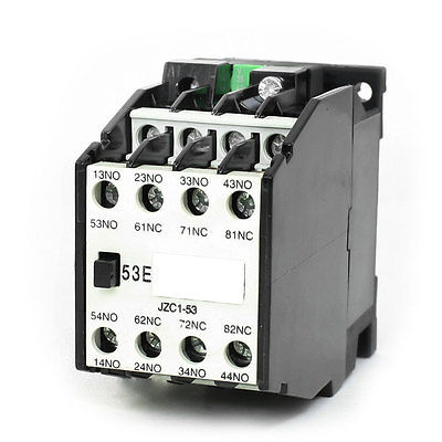 цена на JZC1-53 AC Contactor Type Relay 36V 50Hz Coil Voltage 3-Phase 5NO + 3NC