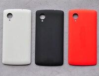 Für LG Google Nexus 5 D820 D821 rückseitige abdeckung, batterie abdeckung + NFC in schwarz weiß und orange farbe durch freies verschiffen; 100% garantie