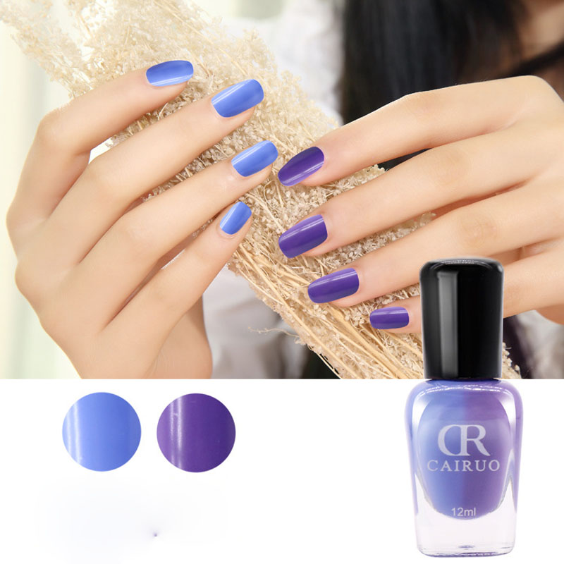 Nail Art Polish Mood Temperature 12ml Y Non Toxic Colors Change Uv Gel Sweet Color In From Beauty