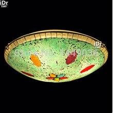 Современные Богемского Стекла Потолочные Светильники блеск привело Спальня огни e27 Украшения Местный Номер Фойе Бесплатная доставка
