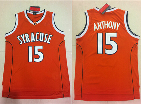 43b59238bc2c ... promo code for 2017 new carmelo anthony 15 syracuse orangemen college  men basketball jersey stiched us