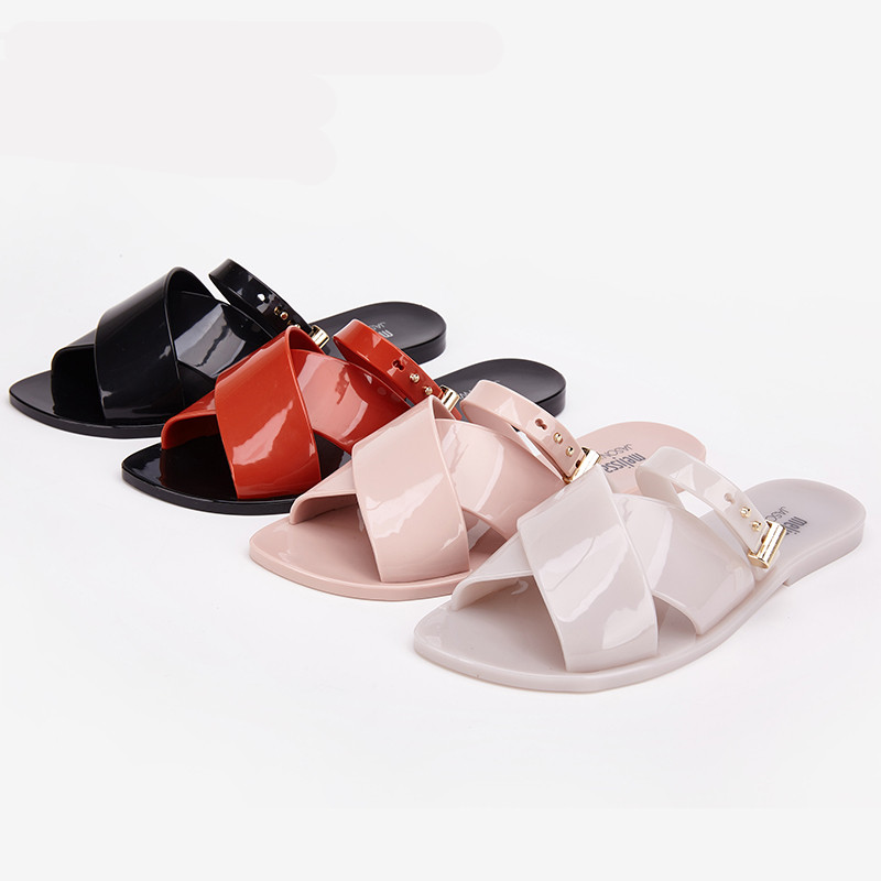 Melissa Shoes women slippers casual flat summer flat with beach shoes wearing women slippers Melissa Women Jelly Sandals FemaleMelissa Shoes women slippers casual flat summer flat with beach shoes wearing women slippers Melissa Women Jelly Sandals Female