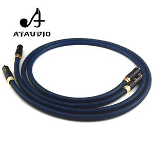 Image 4 - ATAUDIO 1 Pair Rca Cable G5 Top Grade Silver Plated RCA Male to Male Cable