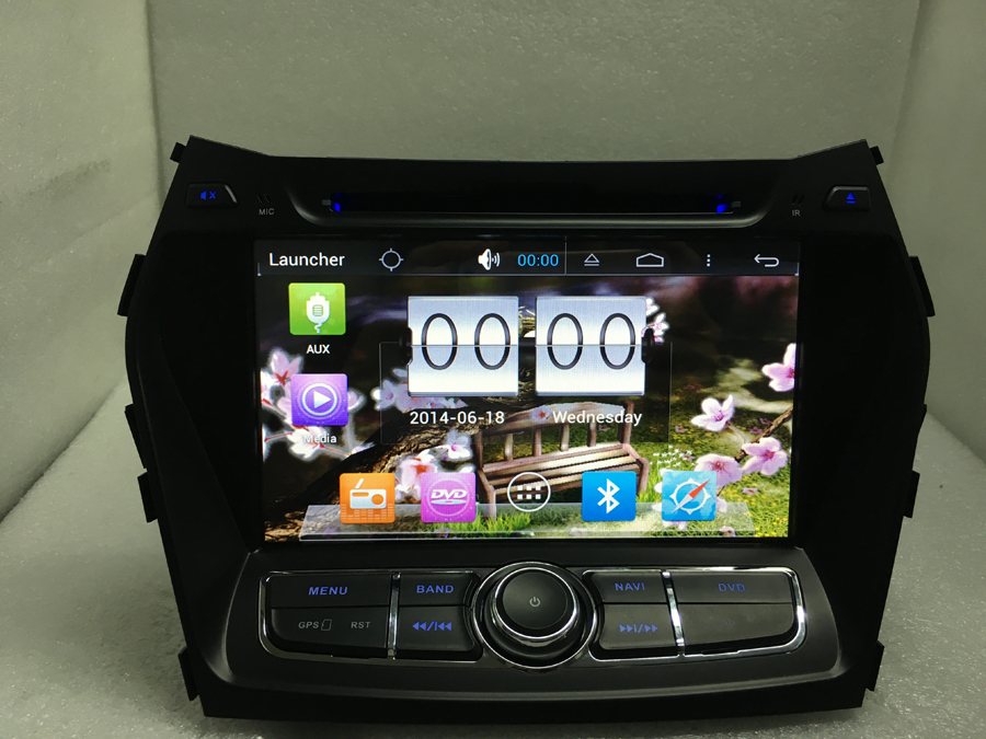 free shipping android 6.0 quad core 1024*600 Car DVD Player 2din car 1.6g 16gb 3g/wifi radio gps for For SONATA FE IX45 2013- автомобильный dvd плеер 1 dvd hyundai ix45 dvd gps 3g wifi bluetooth