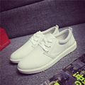 New Fashion 2016 Men Casual Shoes Fashion White Shoes For Men Canvas Flat Solid Board Shoes Male Zapatillas