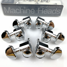 цены 1Set 3R-3L Genuine Original Grover Guitar Machine Heads Tuners 18-1 Series Chrome ( without original packaging )