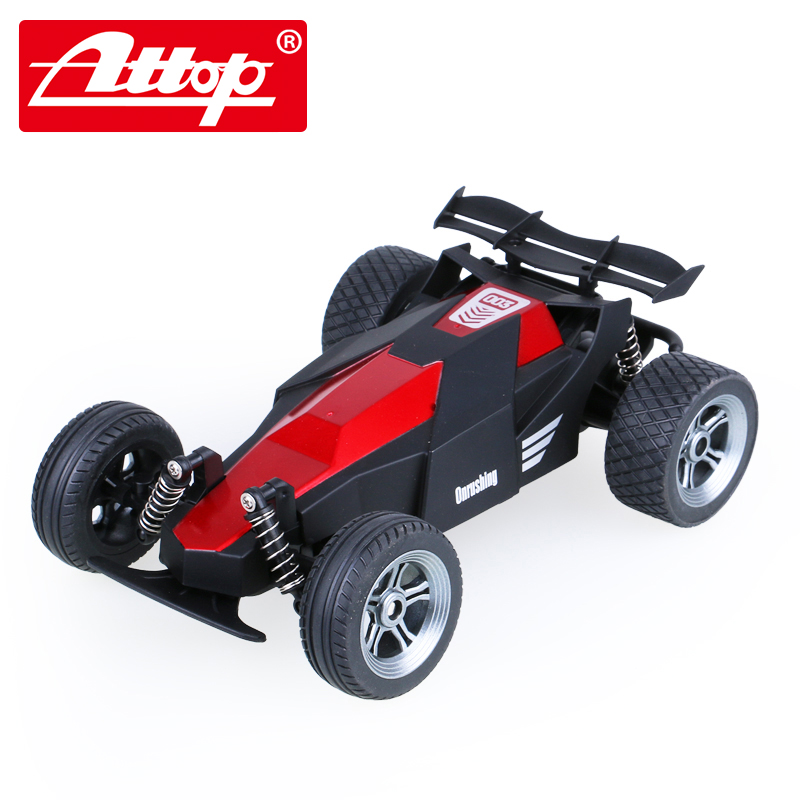 Attop YD-003 Non rechargeable Equation racing <font><b>2</b></font>.4G The best gift for a child Remote Control remote control toy rc car