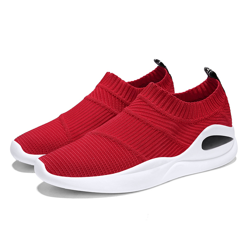 Flyknit Socks Shoes Men Sneakers AIR Running Shoes Outdoor Camping Lightweight Breathable Trainer Trekking Walking Zapatillas