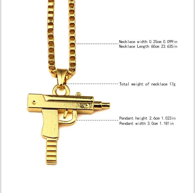 Hip hop necklace 03