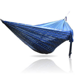 Hammock Portable Swing Outdoor-Product Travel Nylon 300kg Cloth Load-Bearing Printing