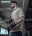 REEBOW Outono Verão de Manga Comprida Camisa Dos Homens TÁTICAS Ao Ar Livre-secagem Rápida Respirável Jogo de Combate SWAT Polícia Militar Airsoft