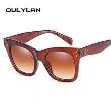 Vintage Oversized Gradient Cat Eye Sunglasses RK