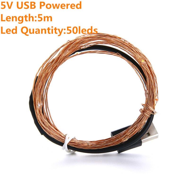 5m usb powered