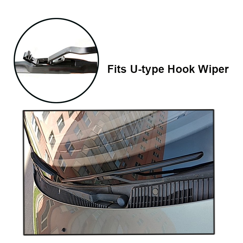 Image 3 - MISIMA Wiper Blades For Lada Vesta Front Window Windshield Windscreen Hook Arms 2015 2016 2017 2018-in Windscreen Wipers from Automobiles & Motorcycles