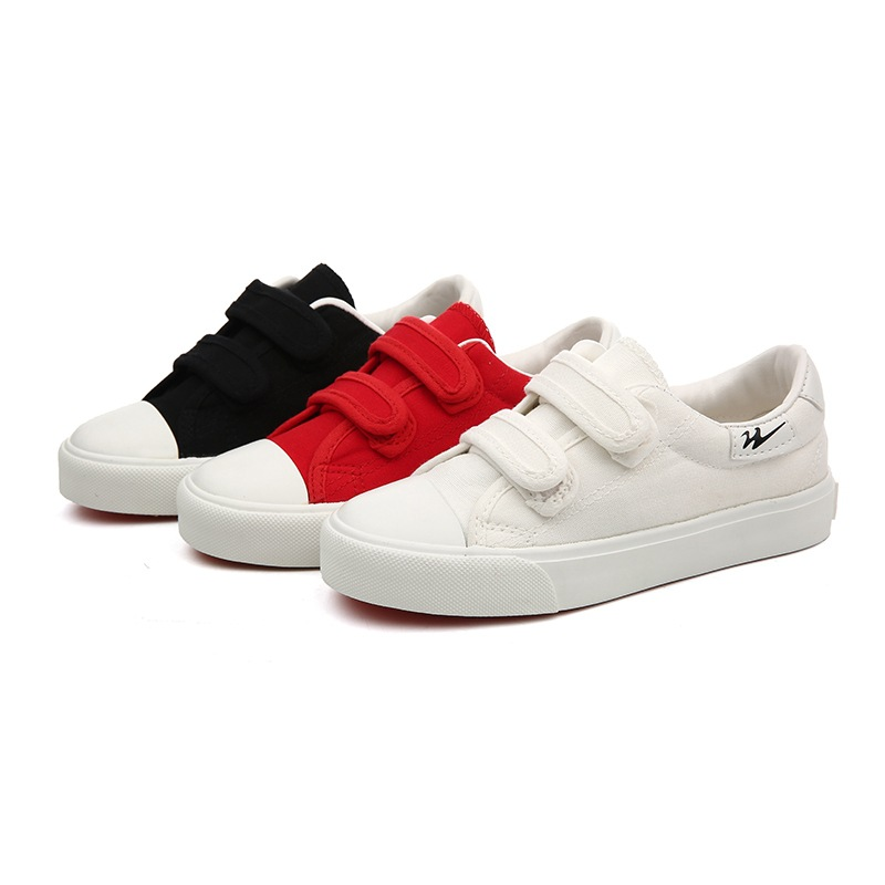 2019 New Spring Boys Girls Shoes Breathable Canvas Children Shoes Solid Simple Students Sneakers Denim Kids Casual Shoes White2019 New Spring Boys Girls Shoes Breathable Canvas Children Shoes Solid Simple Students Sneakers Denim Kids Casual Shoes White