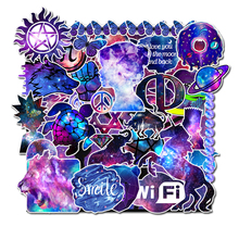 35Pcs Starry sky PVC Waterproof Wall Sticker on Laptop Luggage Skateboard Phone Motorcycle Refrigerator Stationery DIY Stickers