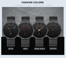 Top Brand Waterproof Business Simple Stainless Steel Strap Black Men Watch Fashion Casual Quartz Men Watches for Male 2019 Reloj цена